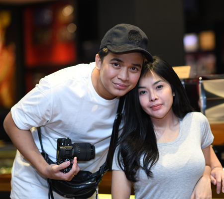 Mr Billy Syahputra & Ms Elvia Cerolline