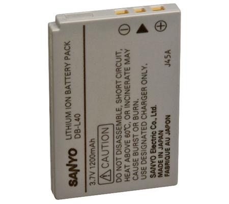 Sanyo DB-L40AU Lithium-Ion Battery (3.7V 1200mAh)