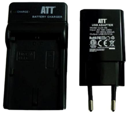 ATTitude DC-NIK-03 Charger for Nikon D700/D90/D80/D50