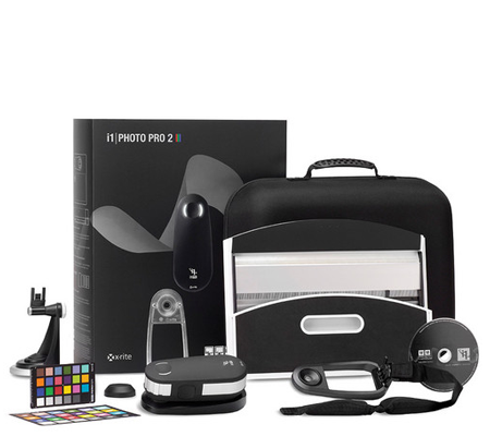 X-Rite i1Photo Pro 2 Color Management Kit for Photographers.