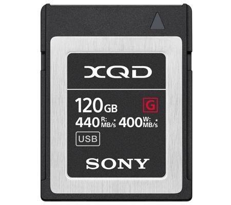 Sony 120GB G Series XQD Memory Card