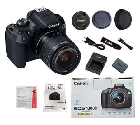 ::: USED ::: Canon EOS 1300D kit 18-55mm IS II (Mint-633/030)