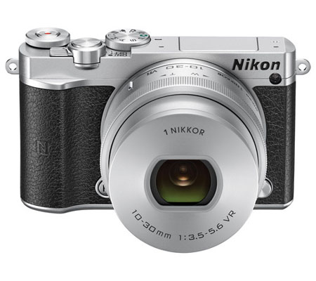 Nikon 1 J5 Kit VR 10-30mm f/3.5-5.6 PD-Zoom Silver