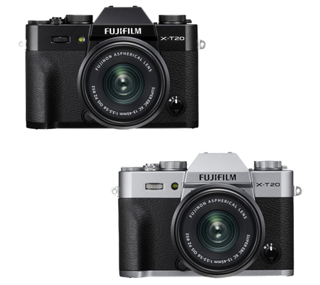 Fujifilm XT20 kit XC15-45mm f/3.5-5.6 OIS PZ Black