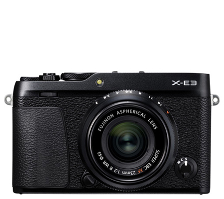 Fujifilm XE3 Body Black + XF23mm f/2 R WR Black