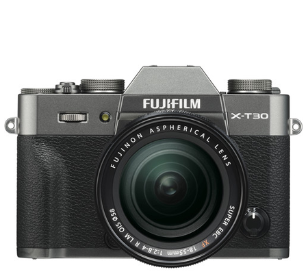 Fujifilm X-T30 Kit 18-55mm F/2.8-4 OIS Charcoal Silver