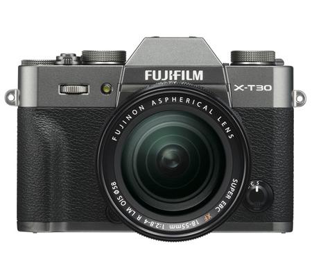 Fujifilm XT30 Kit 18-55mm F/2.8-4 OIS Charcoal Silver