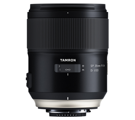 Tamron for Nikon SP 35mm f/1.4 Di USD.