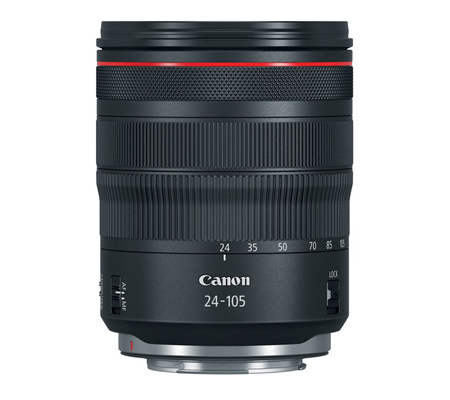 Canon RF 24-105mm f/4L IS USM Lens.