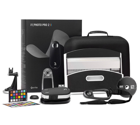 X-Rite i1Photo Pro 2 Color Management Kit for Photographers.