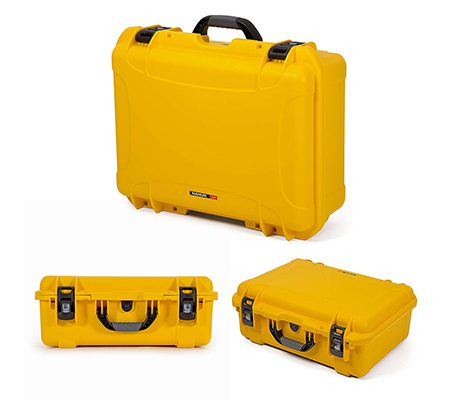Nanuk 940 Waterproof Hard Case with Foam Insert Yellow