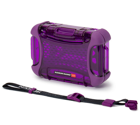Nanuk Nano 320 Protective Hard Case Purple