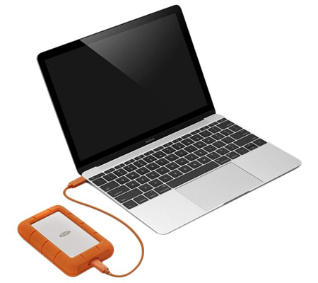 Lacie Rugged USB-C 2TB (STFR2000800)