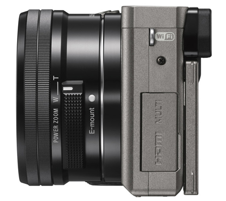 Sony Alpha A6000 kit 16-50mm f/3.5-5.6 OSS Graphite Grey