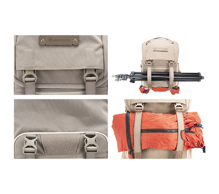 Vanguard Veo Range 41M Medium Camera Backpack Beige Tan