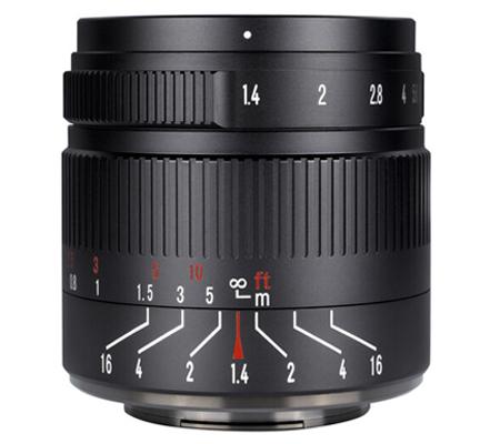 7artisans 55mm f/1.4 II for Panasonic Olympus Micro Four Thirds Mount