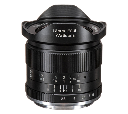 7Artisans 12mm f/2.8 for Sony E Mount