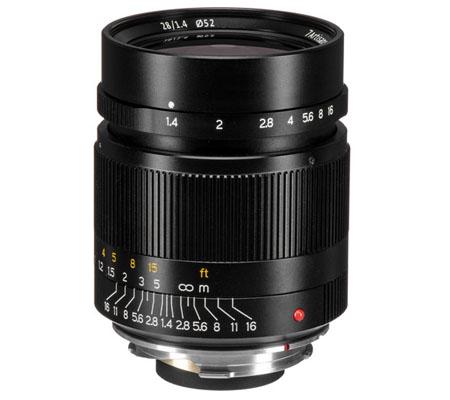 7Artisans 28mm f/1.4 Leica M Black
