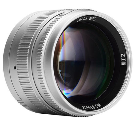 7Artisans 50mm F/1.1 for Leica M Silver