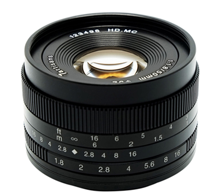 7artisans 50mm f/1.8 for Panasonic Olympus Micro Four Thirds Mount Black
