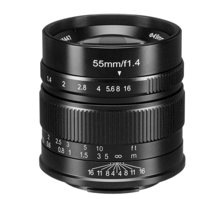 7artisans 55mm f/1.4 for Fujifilm X Mount