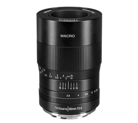 7artisans 60mm f/2.8 Macro for Canon EF-M Mount