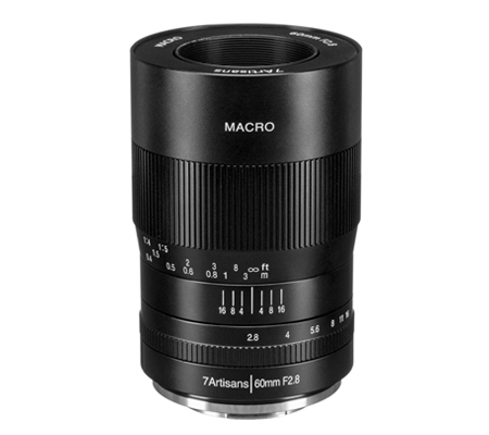 7artisans 60mm f/2.8 Macro for Fujifilm X Mount