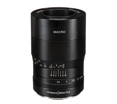 7artisans 60mm f/2.8 Macro for Micro Four Thirds Mount