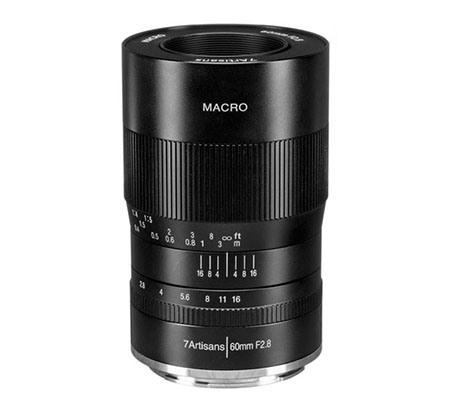 7artisans 60mm f/2.8 Macro for Nikon Z Mount