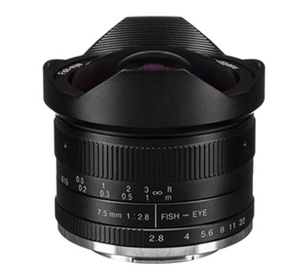 7artisans 7.5mm f/2.8 Fisheye for Canon EF-M Mount Black