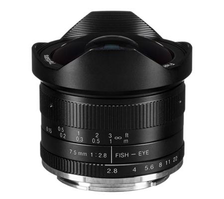 7artisans 7.5mm f/2.8 Fisheye for Sony E Mount Black