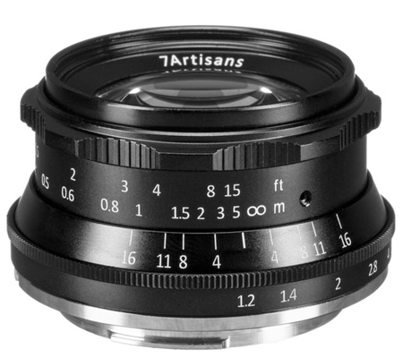 7Artisans for Canon EF-M 35mm f/1.2 Lens