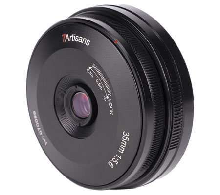7artisans 35mm f/5.6 for Panasonic Leica L Mount Full Frame
