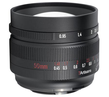 7artisans 50mm f/0.95 for Panasonic Olympus Micro Four Thirds Mount