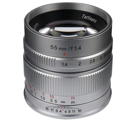 7artisans 55mm f/1.4 for Fujifilm X Mount White