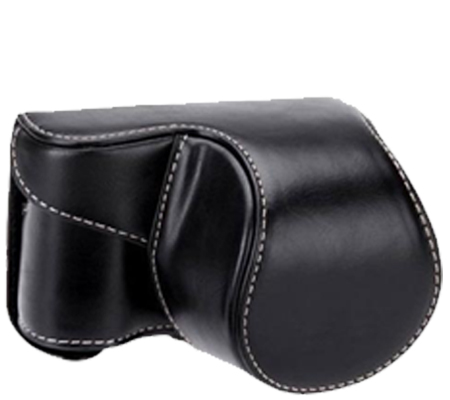 Camwear Leather Case for Sony A6000/A6300 Black