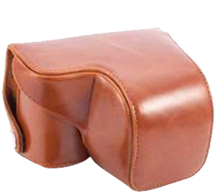 Camwear Leather Case for Sony A6000/A6300 Brown