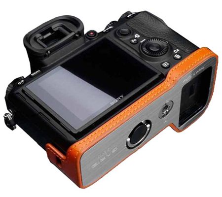Gariz Halfcase for Sony A9 (XS-CHA9OR Orange)