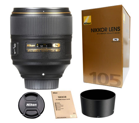 ::: USED ::: Nikon AF-S Nikkor 105mm f/1.4E ED N (Mint-509)