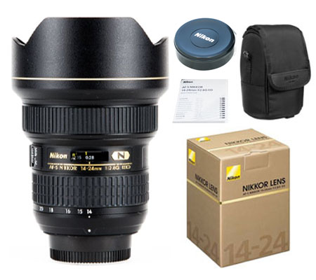 ::: USED ::: Nikon AF-S 14-24mm f/2.8G ED N (Mint-669)