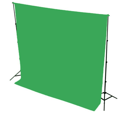 BD Background Paper Green 2.72m X 11m