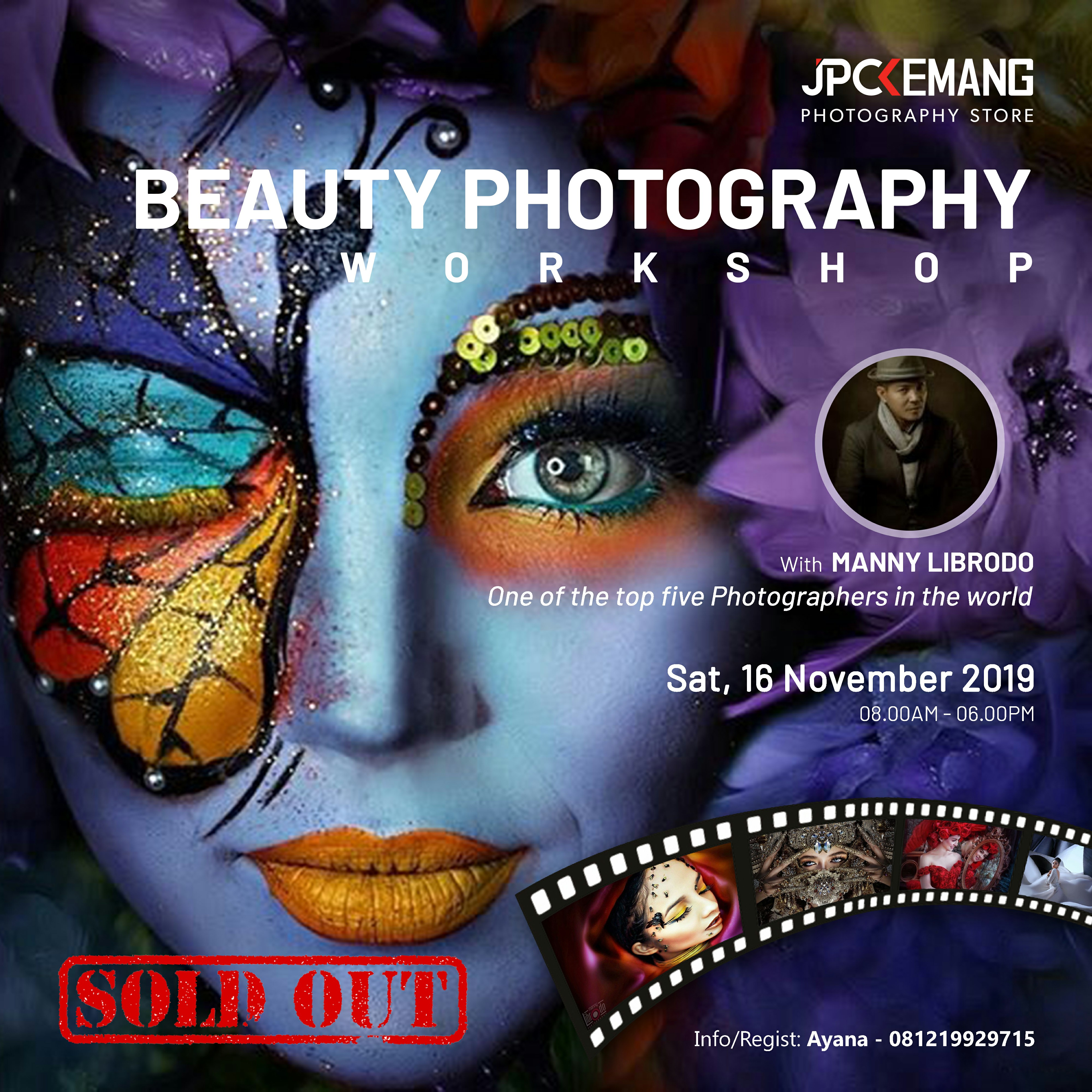 Beauty Photography Workshop