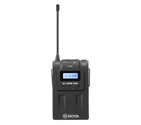 Boya BY-WM8 Pro K2 Dual Channel UHF Wireless Microphone System