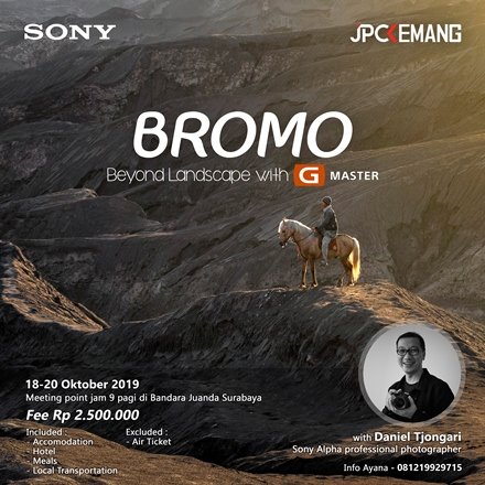 BROMO BEYOND LANDSCAPE with G MASTER