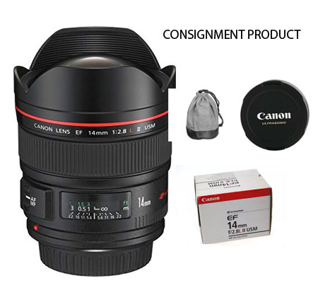 :::USED:::Canon EF 14mm f/2.8L II USM (Excellent-394) Consignment Product