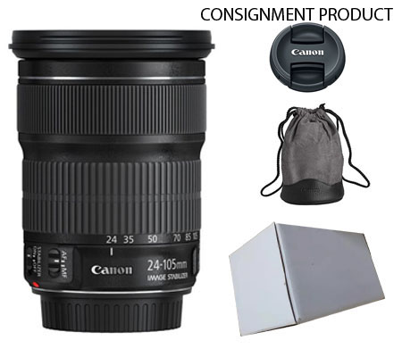 ::: USED ::: Canon EF 24-105mm F/3.5-5.6 IS STM (EX-MINT # 880) CONSIGNMENT