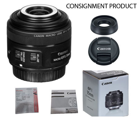 :::USED::: Canon EFS 35mm F/2.8 Macro IS STM (Excellent To Mint-581) CONSIGNMENT