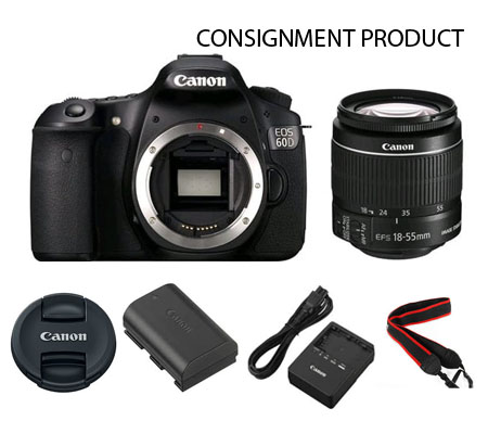 :::USED:::Canon EOS 60D kit 18-55 (excellent) Kode 967/421 Consignment