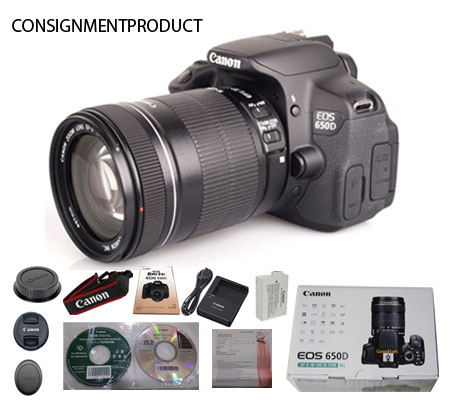 :::USED:::Canon EOS 650D EF-S 18-135 IS STM (VG TO E - 423/175) CONSIGNMENT