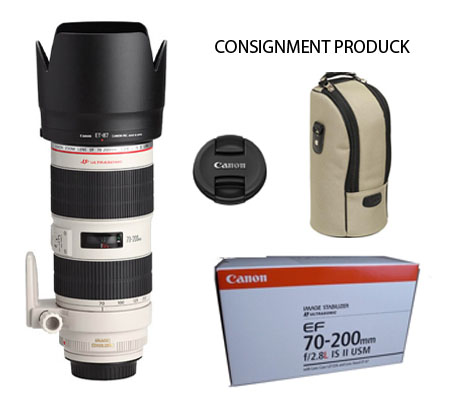 :::USED::: Canon EF 70-200mm f/2.8L IS II USM (EXMINT-445) Consignment Produck